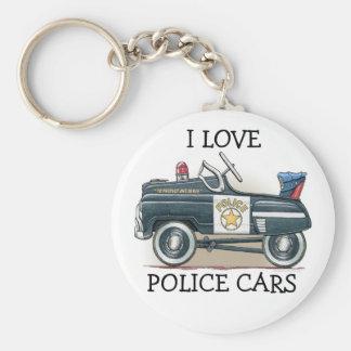 Police Pedal Car Cop Car Keychain