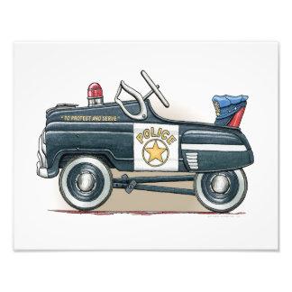 Police Pedal Car Cop Car Photo