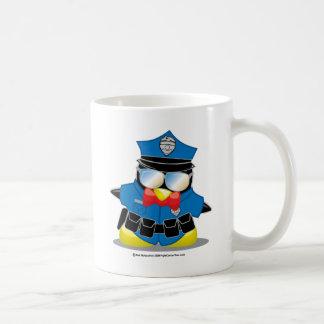 Police Penguin Coffee Mug