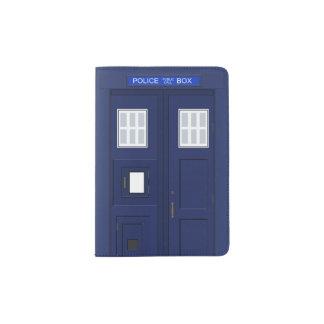Police Phone Call Box British Vintage Passport Holder