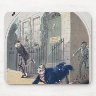 Police! Police! Song Book Cover, c.1865 Mouse Mat