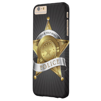 Police Security Badge Barely There iPhone 6 Plus Case