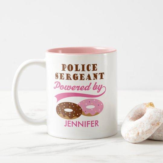 Police Sergeant Funny Personalised Gift Mug