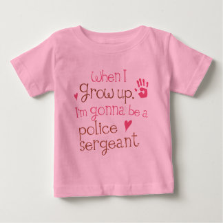 Police Sergeant (Future) Infant Baby T-Shirt