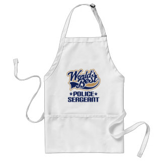 Police Sergeant Gift Standard Apron