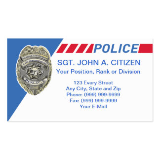 53 Deputy Sheriff Business Cards and Deputy Sheriff