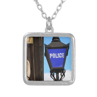 Police Silver Plated Necklace
