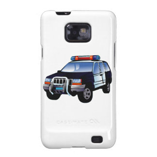 Police Sport Utility Vehicle (SUV) Galaxy S2 Cover