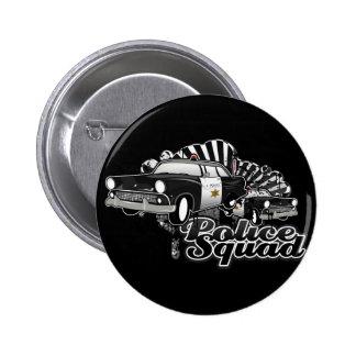 Police Squad 6 Cm Round Badge