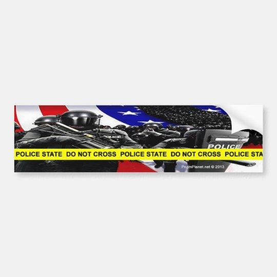 Police State Bumper Sticker