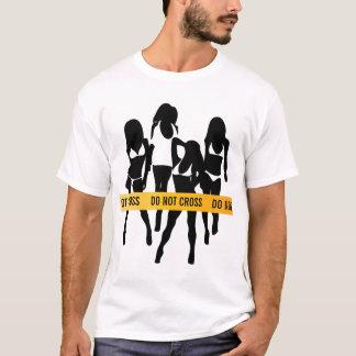 Police Tape - Do Not Cross T-Shirt