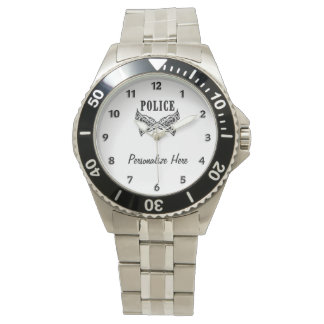 Police Tattoo Watches