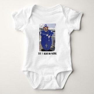 Police Teddy Bear Infant T-Shirt