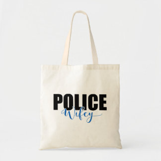 Police Wifey Tote Bag