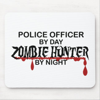 Police Zombie Hunter Mousepad