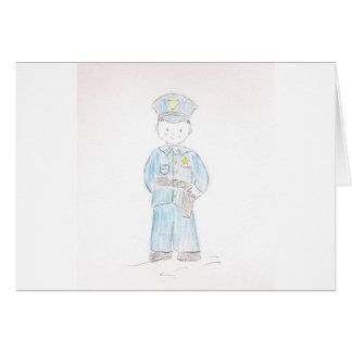 Policeman Greeting Cards