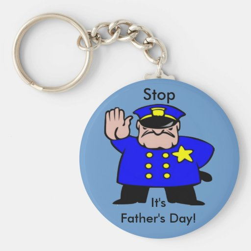 Policeman - Father's Day Key Chains