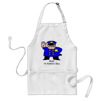 Policeman - Father's Day Standard Apron
