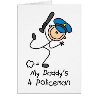 Policeman Gift Card