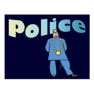 Policeman in Uniform Postcard