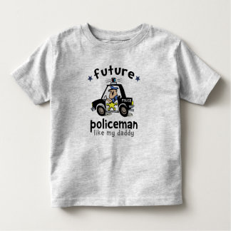 Policeman Like Daddy Toddler T-Shirt