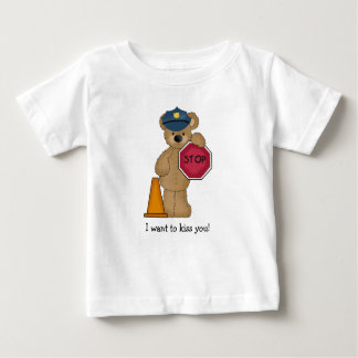 Policeman Teddy Bear T-Shirt