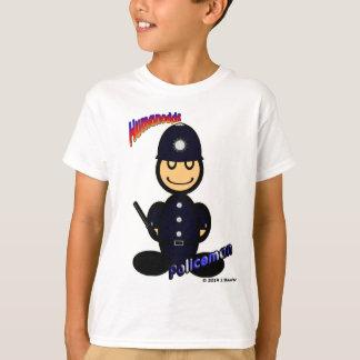 Policeman (with logos) T-Shirt