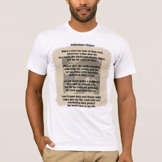Policeman's Prayer T-shirt