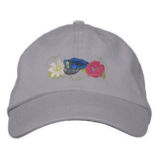 Policeman's Wife Embroidered Hat