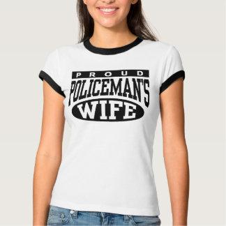 Policeman's Wife Tshirt