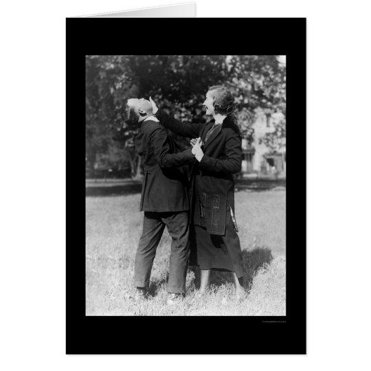 Policewoman Self Defence 1922 Card