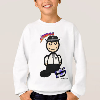 Policewoman (with logos) sweatshirt