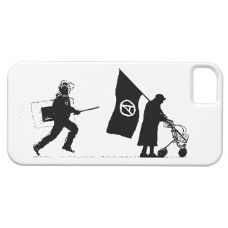 Policy & Granny Barely There iPhone 5 Case