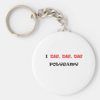 POLIGAMY KEY RING