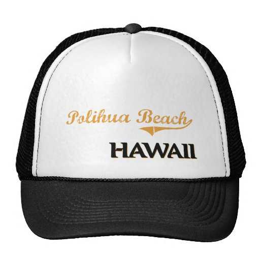 Polihua Beach Hawaii Classic Cap