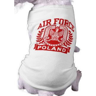 Polish Air Force Sleeveless Dog Shirt