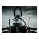Polish Air Fortce MIG-29 Fulcrum Poster