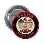 Polish American Eagle Button