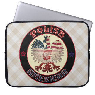 Polish American Eagle Laptop Sleeve Bag