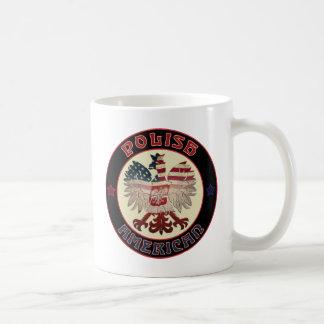 Polish American Eagle Coffee Mugs