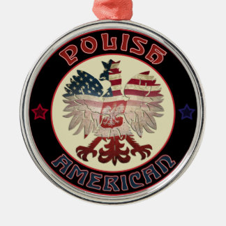 Polish American Eagle Ornament
