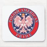 Polish American Pride Mouse Pads