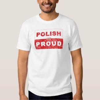 Polish and Proud Flag T-shirt
