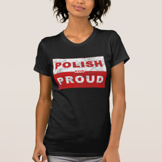 Polish and Proud Flag Tee Shirt