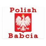 Polish Babcia Eagle Post Card