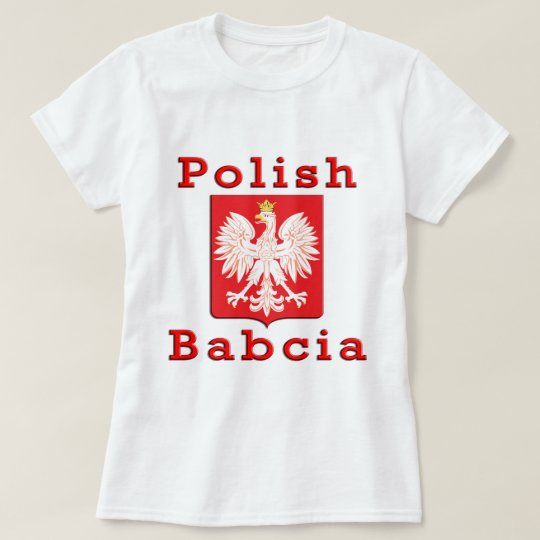 Polish Babcia Eagle T-Shirt