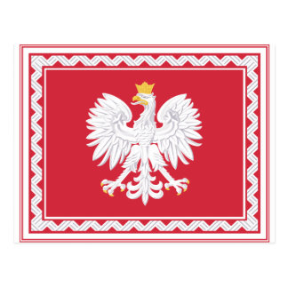 Polish Banner Post Cards