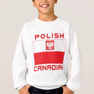 Polish Canadian Poland Falcon Flag Sweatshirt
