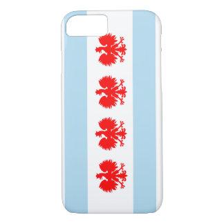 Polish Chicago Flag iPhone 7 Case