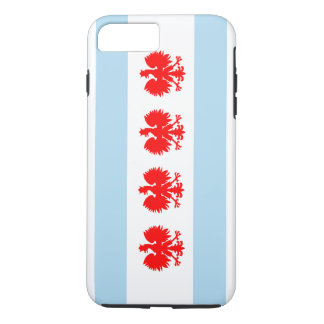 Polish Chicago Flag iPhone 7 Plus Case